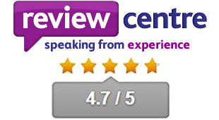 4.7 Star Review Centre Rating